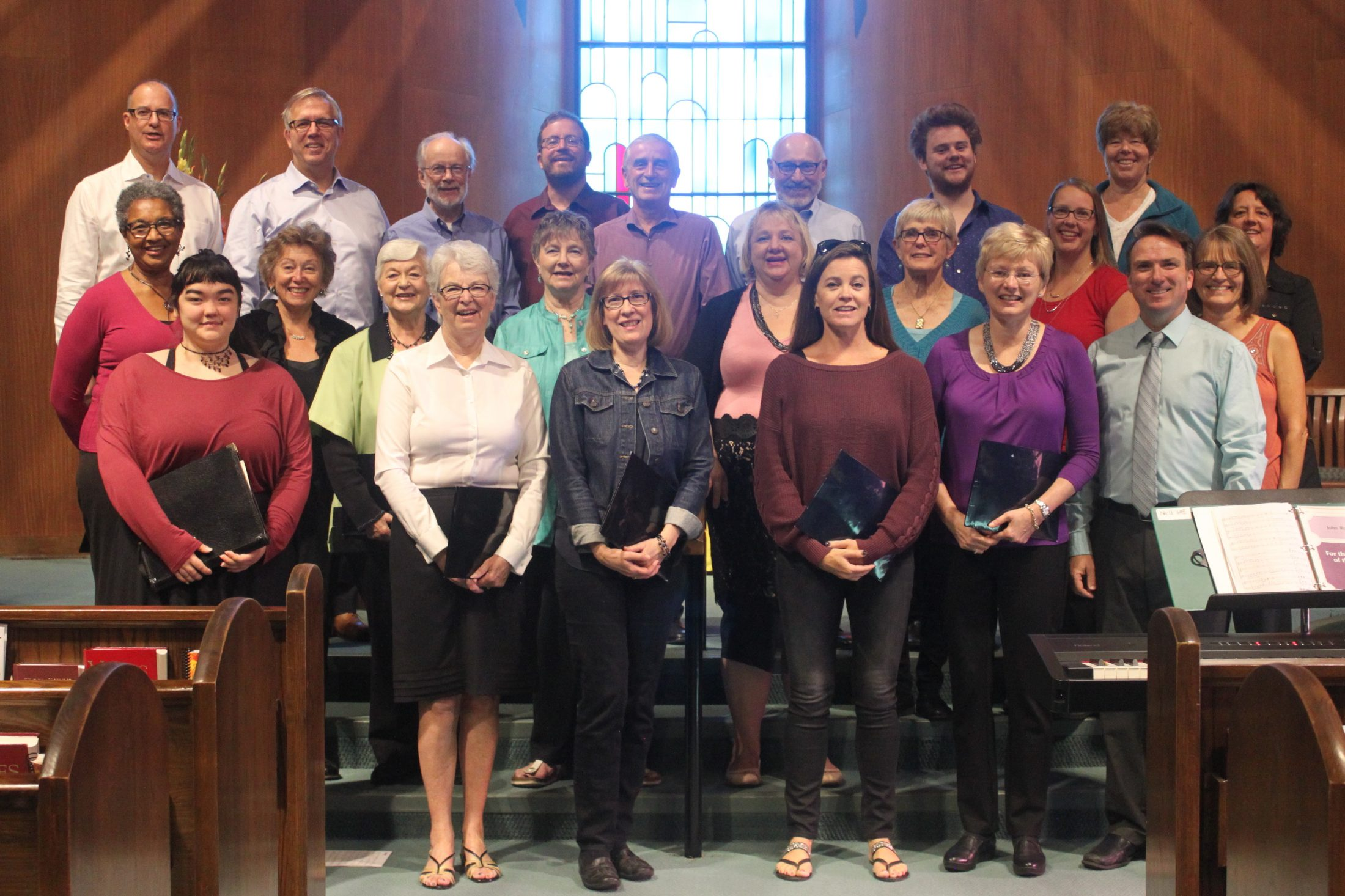 October 1, 2017Parkminster Choir